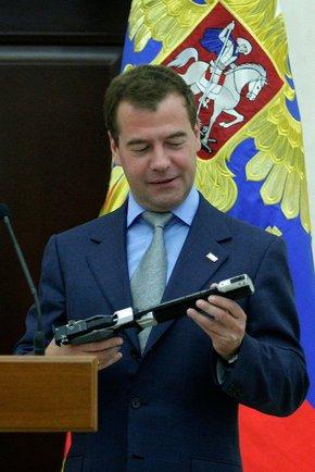 На встрече с Д. Медведевым