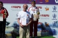 2-й победитель превенства России мсмк С. Медведева и тренер